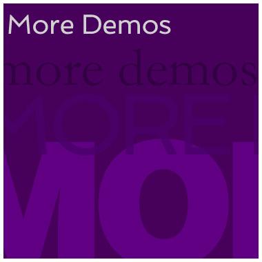 more-demo